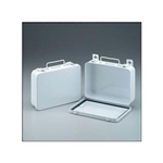 16 unit metal first aid case empty