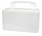 10 unit plastic first aid case empty